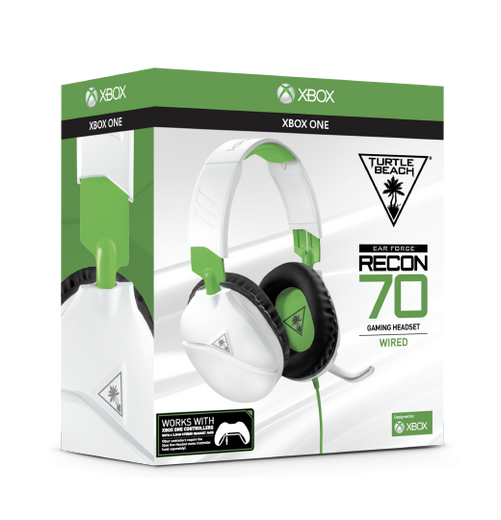 Recon 70 Xbox One White Packaging