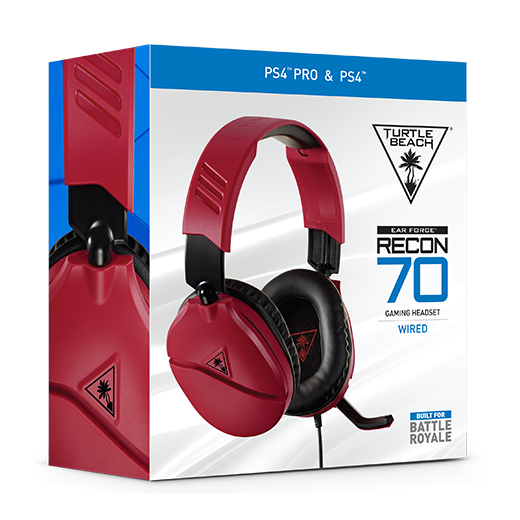 Recon 70 PS4 Red Packaging