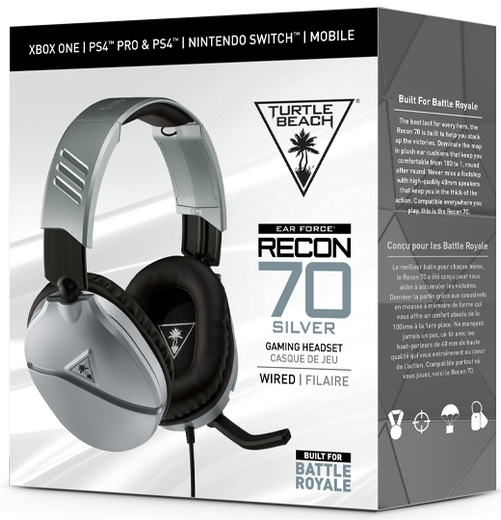 Recon 70 Silver Packaging