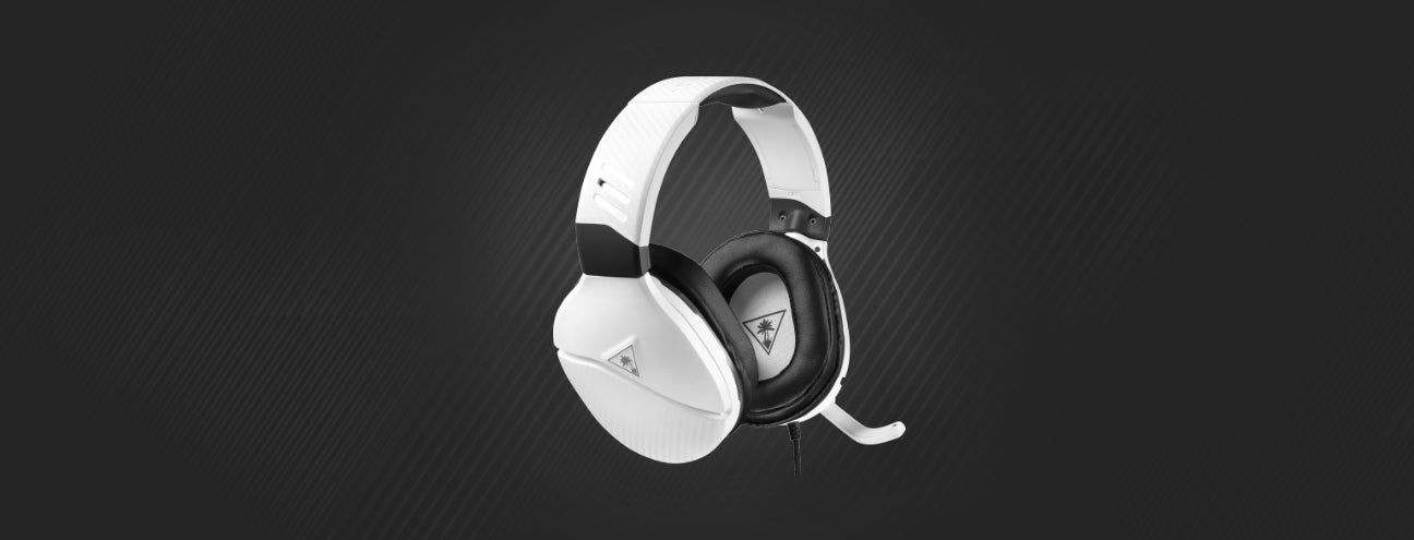 recon 200 headset in white