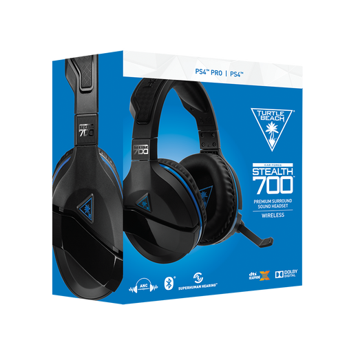 Stealth 700 Gaming Headset For Playstation 4 Turtle Beach