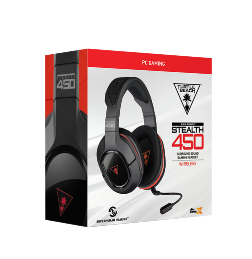 Turtle Beach Product Package in Red