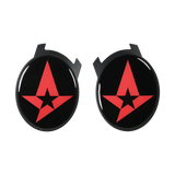 Astralis Logo Elite Speaker Plates - Black
