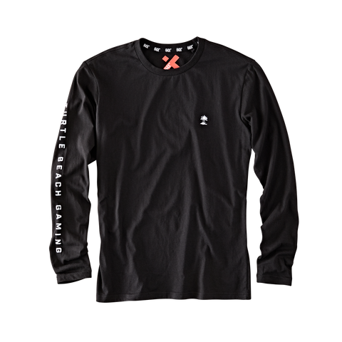 Logo Long Sleeve Black T-Shirt