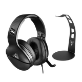 Black Recon 200 Gaming Headset Bundle with Stand