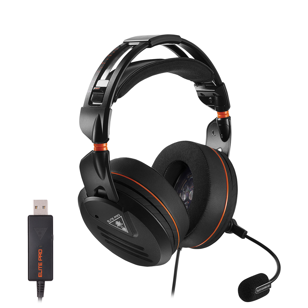 Elite Pro Pc Surround Sound Headset Turtle Beach Us Kabel Bc 50 Mm Hover To Zoom