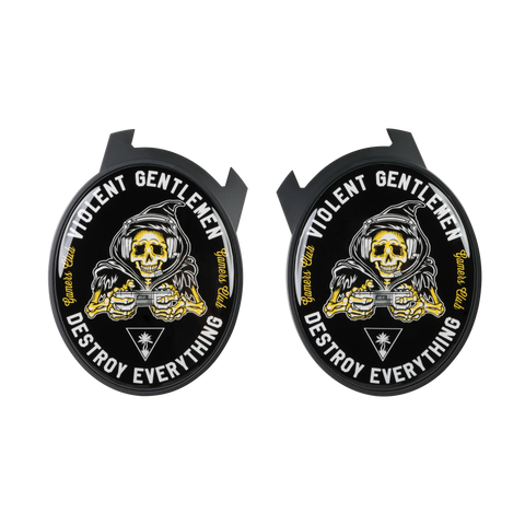 Violent Gentlemen Reaper Elite Speaker Plates - Black