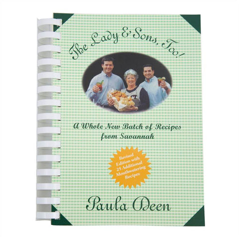 The Lady & Son's, Too Autographed Cookbook Softback