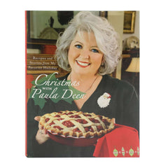 Christmas with Paula Deen Autographed Hardback Cookbook