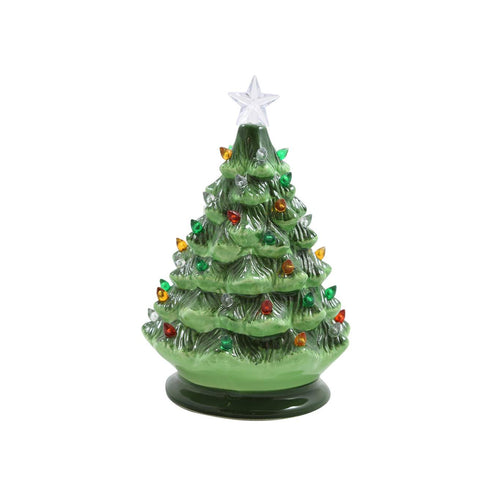 "Lighted 8"" Christmas Tree"