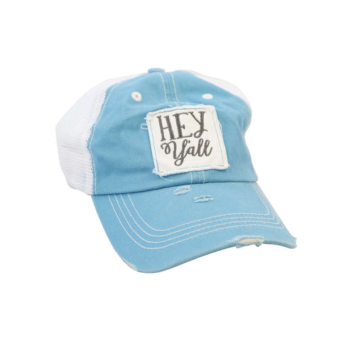 Hey Y'all Ladies Patch Hat
