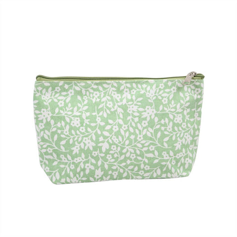 Floral Pattern 3 assorted Canvas Pouches
