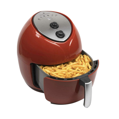 Paula Deen 9.5qt Family Sized Red Air Fryer