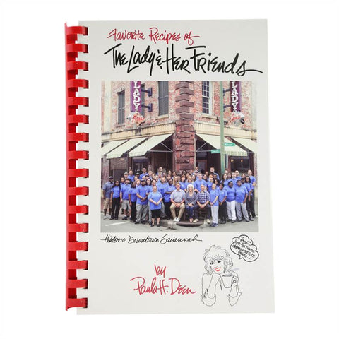 Favorite Recipes of The Lady & Her Friends Autographed Cookbook