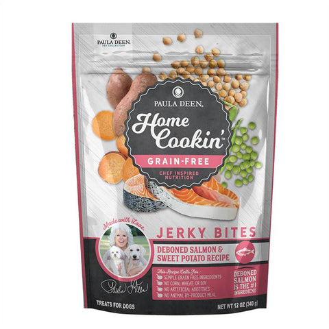 Paula Deen Home Cookin' Slow Baked Dog Food- Grain Free Oven Baked Salmon & Sweet Potato Recipe