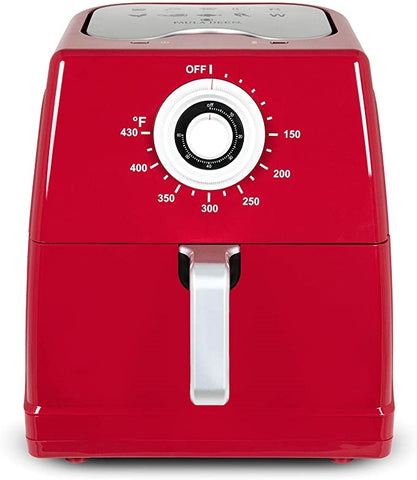 Paula Deen 1700W 8.5qt. Ceramic Nonstick XXL Air Fryer RED