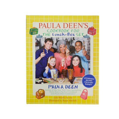 Paula Deen's Lunch Box Cookbook Autographed