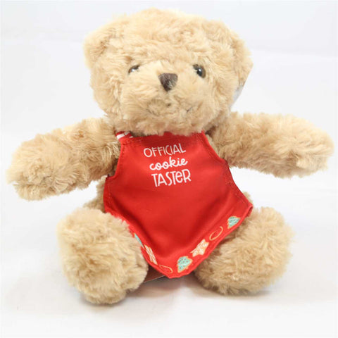 "Paula Deen's 10"" Official Cookie Taster Teddy Bear"