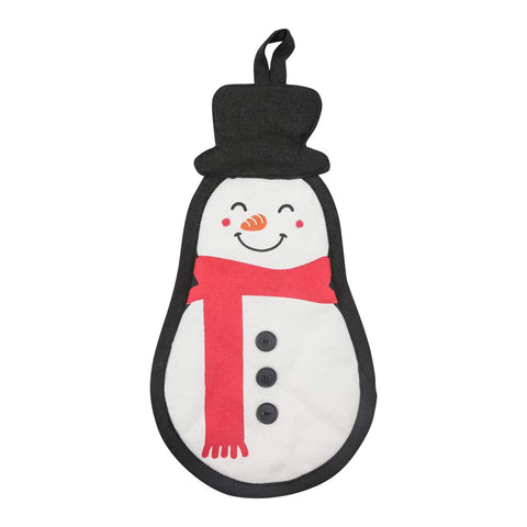 Paula Deen's Snowman Pot Holder