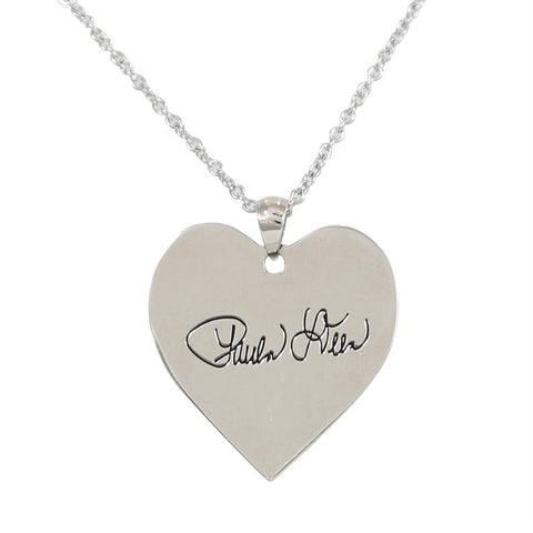 Paula Deen Bless Your Heart Silver Tone Necklace by JTV