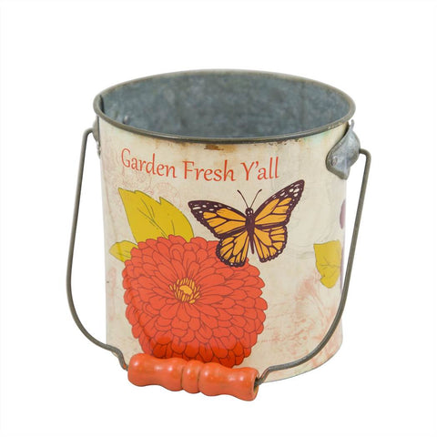 Zinnia Small Bucket