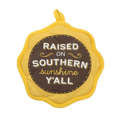 Paula Deen Raised on Sunshine Towel/Potholder Set