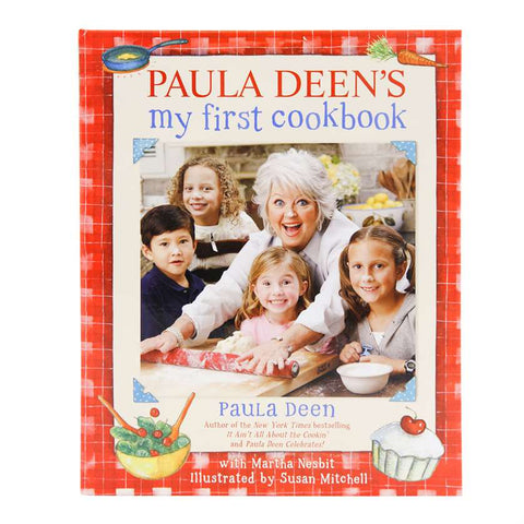 Paula Deen's My First Cookbook Autographed