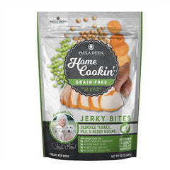 Paula Deen Home Cookin' Gain Free Jerky Bites - De-Boned Turkey, Pea & Berry Recipe