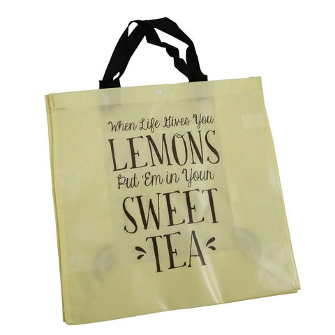 When Life Gives You Lemons Make Sweet Tea Reusable Bag
