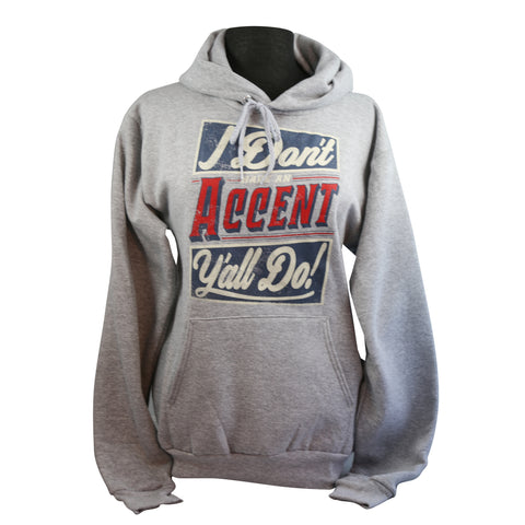 Accent Y'all Sweatshirt, Light Steel