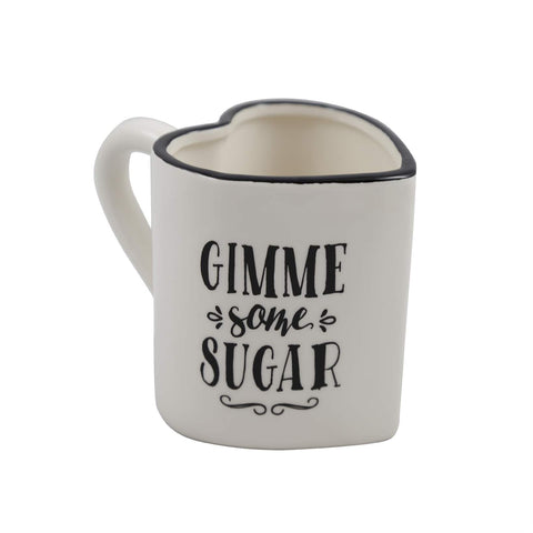 Gimme Some Sugar Heart Shaped Mug