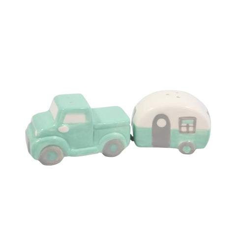 Salt & Pepper Truck w/Camper
