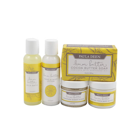Paula Deen's Lemon Butter Bath & Body Travel Bag