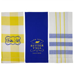 Butter Y'all 3 pc. Towel Set