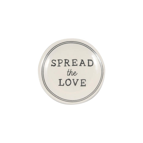 Spread the Love Butter Pat Dish