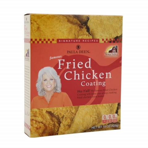 Paula Deen Famous Fried Chicken Coating 15 oz