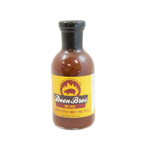Deen Bros South Ga. Sweet & Spicy BBQ Sauce 13.5 oz