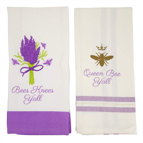 Bees Knee's 2 pack Towel Set