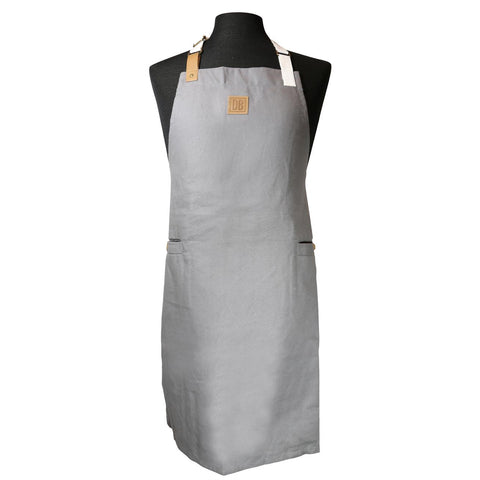 Deen Brothers Canvas Gray Apron