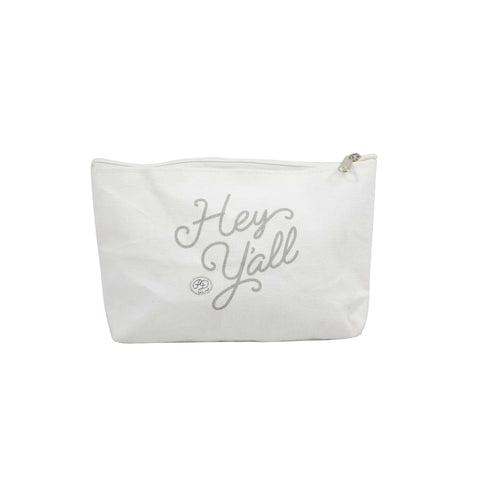 Hey Y'all Canvas Pouch