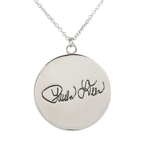 Paula Deen Bless this Southern Mess Silver Tone Necklace by JTV