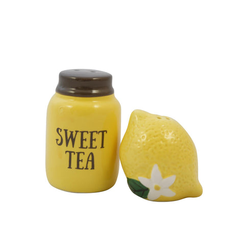 Paula Deen's Lemon Salt & Pepper Shakers
