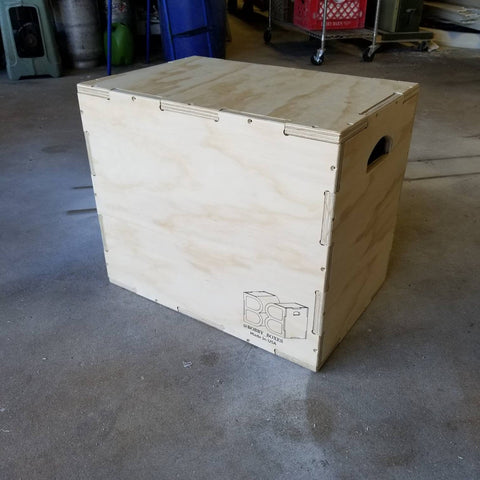 Plyo Box 16 X 20 X 24 / Plyometric Jump Boxes