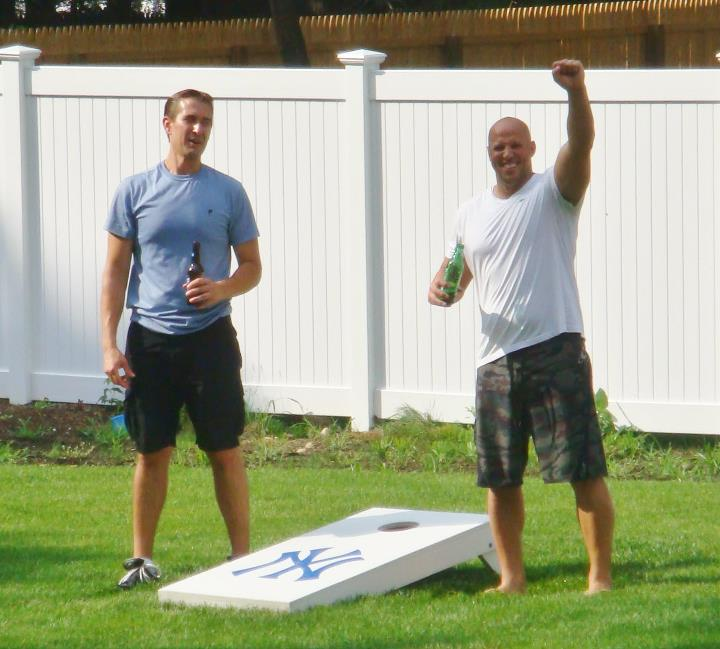 pvc cornhole boards