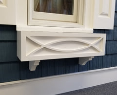 Greenport No Rot  azek PVC Flower Window Box
