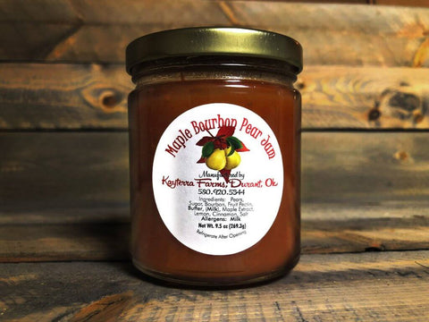 Maple Bourbon Pear Jam 9.5oz