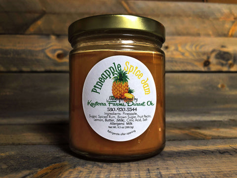 Pineapple Spice Jam ~ 9.5 oz