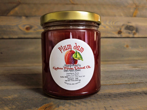Red Plum Jam - 9.5 oz