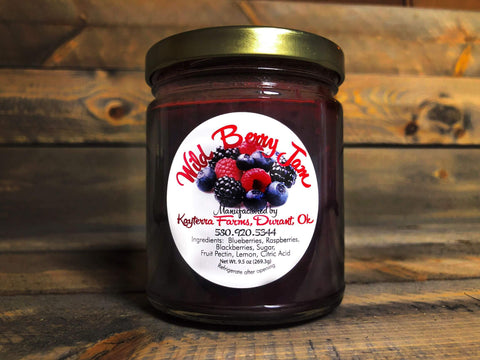 Wild Berry Jam ~ 9.5 oz