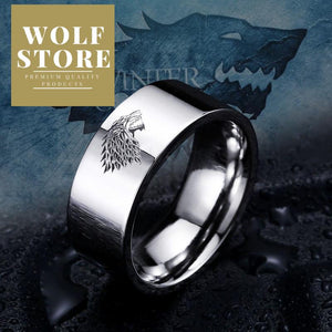 Winterfell Wolf Ring of Truth - Premium Wolf Store